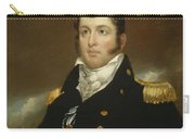 Commodore Oliver Hazard Perry Carry-all Pouch by John Wesley Jarvis