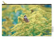 Common Buckeye Butterfly Hides In The Goldenrod Carry-all Pouch