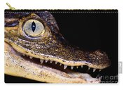 Common Caiman Carry-all Pouch