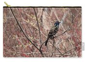 Common Grackle In Spring Carry-all Pouch