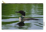 Common Loon Carry-all Pouch by Tony Beck
