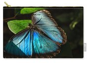 Common Morpho Blue Butterfly Carry-all Pouch
