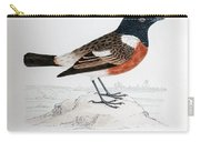 Common Stonechat Illustration Carry-all Pouch