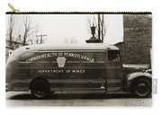 Commonwealth Of Pennsylvania  Coal Mine Rescue Truck 1947 Carry-all Pouch