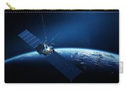 Communications Satellite Orbiting Earth Carry-all Pouch