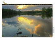 Community Lake #8 Sunset Carry-all Pouch
