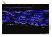 Compartmental Blues Carry-all Pouch