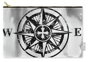 Compass-black Carry-all Pouch