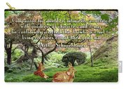 Compassion And Goodness Carry-all Pouch