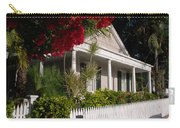 Conch House In Key West Carry-all Pouch by Susanne Van Hulst