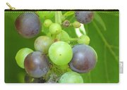 Concord Grapes On The Vine Carry-all Pouch