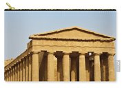 Concordia Temple In Agrigento, Sicily, Italy Carry-all Pouch