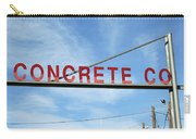 Concrete Company Carry-all Pouch