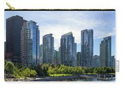 Condominium Waterfront Living In Vancouver Bc Carry-all Pouch