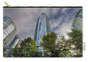Condominiums Along Waterfront In Vancouver Bc Carry-all Pouch