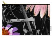 Cone Flower Tapestry Carry-all Pouch