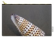 Cone Seashell On The Beach Carry-all Pouch