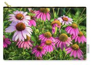 Coneflower Garden Carry-all Pouch