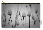 Coneflower Seedheads Covered In Snow Carry-all Pouch