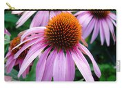 Three Coneflowers  Carry-all Pouch
