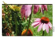 Coneflowers In Garden Carry-all Pouch