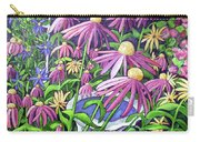 Coneflowers In Gentle Wind Carry-all Pouch