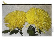 Conversations In The Flower Garden Carry-all Pouch