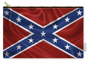 Confederate Flag - Second Confederate Navy Jack And The Battle Flag Of Northern Virginia Carry-all Pouch