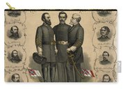 Confederate Generals Of The Civil War Carry-all Pouch by War Is Hell Store