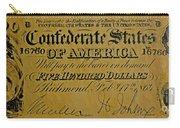 Confederate States Carry-all Pouch