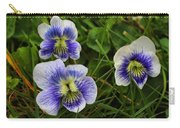 Confederate Violets Carry-all Pouch