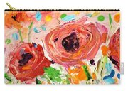 Confetti Poppies Carry-all Pouch