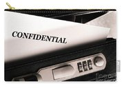 Confidential Documents Carry-all Pouch
