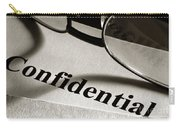 Confidential Carry-all Pouch