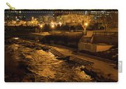 Confluence Park Rapids At Night Carry-all Pouch