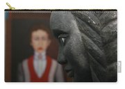 Confrontation Of Two Artworks Carry-all Pouch