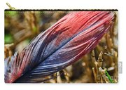 Congo African Grey Feather Carry-all Pouch
