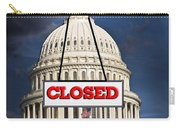 Congress Closed. Carry-all Pouch