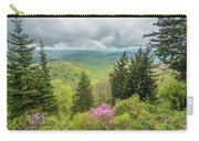Conifers And Blooms Carry-all Pouch