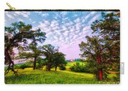Conley Road Meadow, Oaks, Barn, Spring  Carry-all Pouch