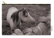 Connemura Horse-signed-#300 Carry-all Pouch