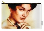 Connie Francis, Music Legend By John Springfield Carry-all Pouch