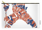 Connor Mcdavid Edmonton Oilers Pixel Art 4 Carry-all Pouch