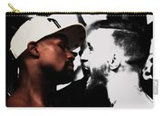Conor Mcgregor And Floyd Mayweather Face Off  Carry-all Pouch