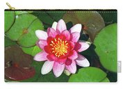 Conqueror Waterlily  Carry-all Pouch