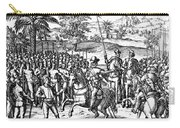 Conquest Of Inca Empire Carry-all Pouch