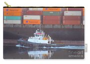 Container Ship And Tug Carry-all Pouch