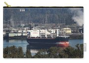 Container Ship Ready To Load More Lumber Carry-all Pouch