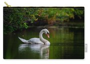 Contemplating Swan Carry-all Pouch