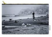 Contemplation - Beach - California Carry-all Pouch